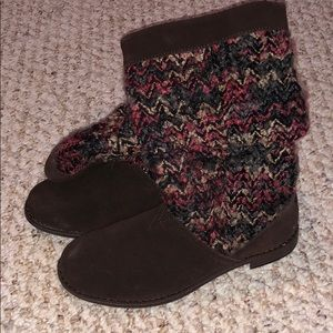 Toms woven boots